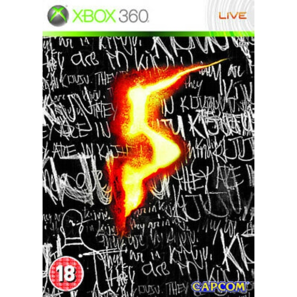Resident Evil 5 Steelbook Game Xbox 360 [Used]