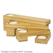 Bamboo Tealight Candle Holder | M&W - Image 4