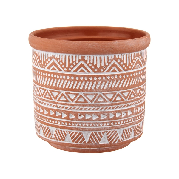 Sass & Belle Geo Terracotta Planter