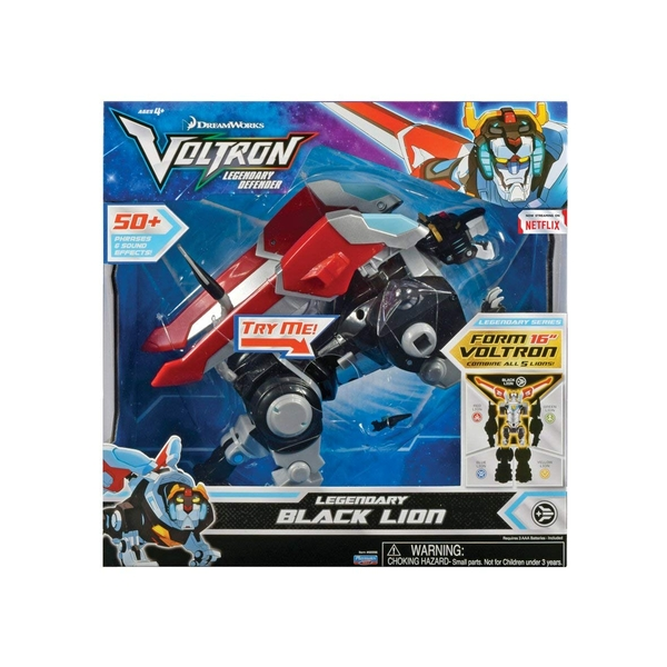 Voltron Legendary Black Lion Deluxe Figure