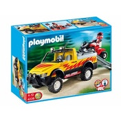 Playmobil Pick Up Truck with Quad