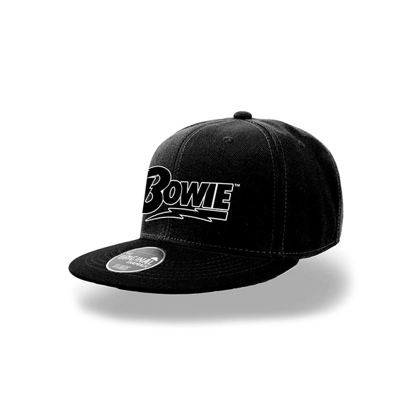 David Bowie - Logo Black Snapback - ozgameshop.com