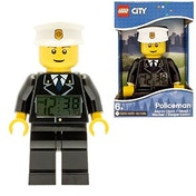 Lego Mini Fig Clock Policeman