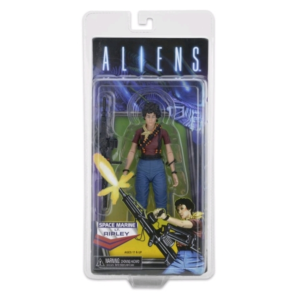 Kenner Ripley (Aliens) NECA Tribute with Mini Comic Ailen Day Exclusive