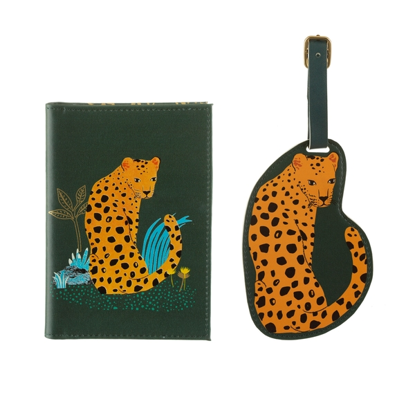 Sass & Belle Leopard Love Travel Set