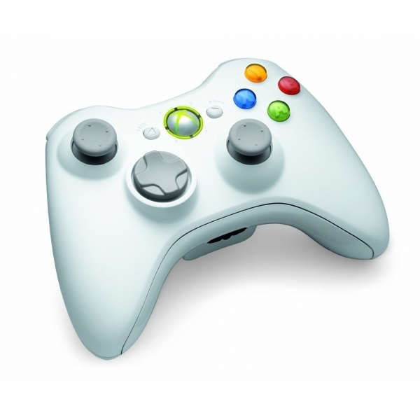 Official Wireless Gamepad Controller Special Edition WHITE Xbox 360 - Image 2