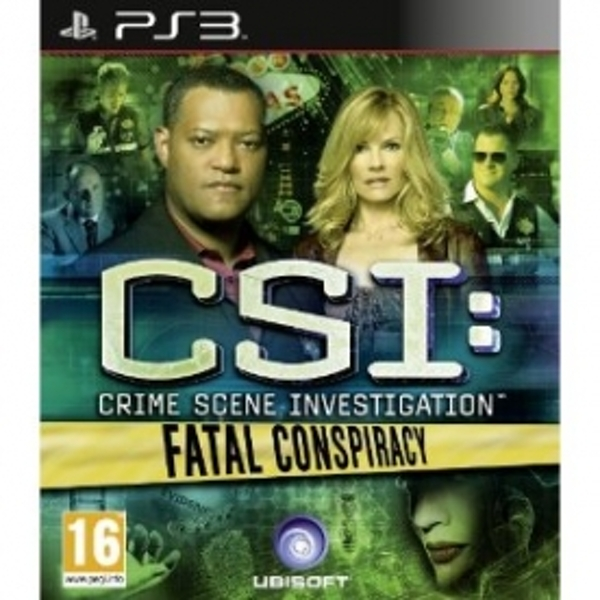 CSI Crime Scene Investigation Fatal Conspiracy Game PS3 - Image 1