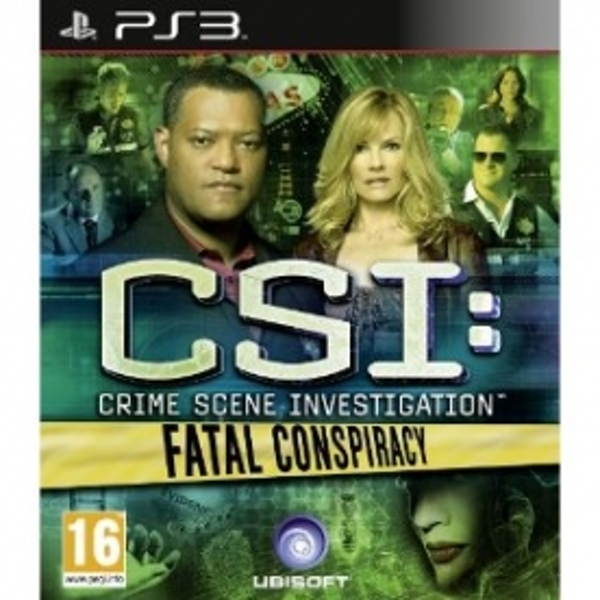 CSI Crime Scene Investigation Fatal Conspiracy Game PS3