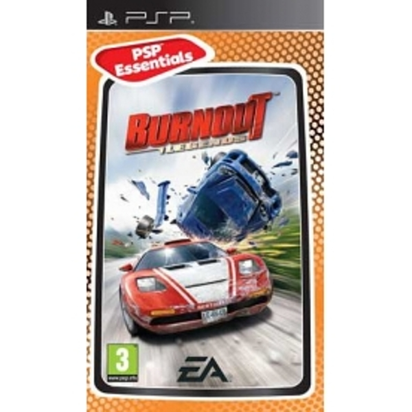 Burnout Legends (Essentials) Game PSP