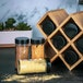 Bamboo Spice Rack with Jars | M&W - Image 2