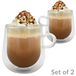 2 x Double Walled 275ml Glass Mugs | M&W - Image 5