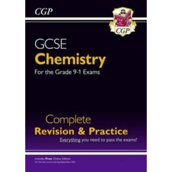 New Grade 9-1 GCSE Chemistry Complete Revision & Practice with Online Edition by CGP Books (Paperback, 2016)