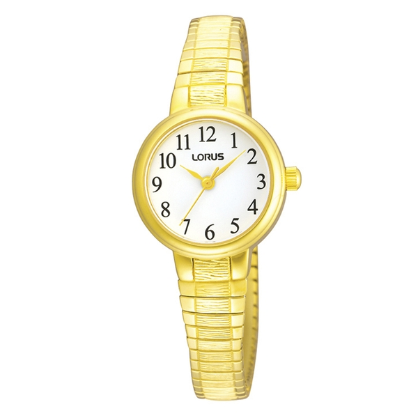 Lorus RG236NX9 Ladies Gold Plated Expanding Bracelet Watch