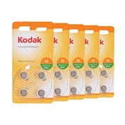 20x Kodak Hearing Aid Batteries P13 Orange Zinc-Air Mercury Free (5x 4 Pack)