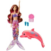 Ex-Display Barbie Dolphin Magic Transforming Mermaid Doll Used - Like New