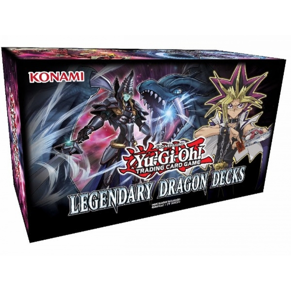 Yu-Gi-Oh! TCG Legendary Dragon Decks