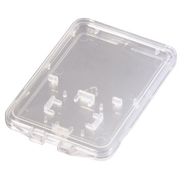"Hama ""DuoCase"" Memory Card Box, transparent"