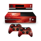 Official Liverpool FC Xbox One Console Skin and 2x Controller Skin Combo Pack