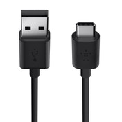 Belkin 1.8 m USB 2.0 Type C USB-C to USB-A Cable Black