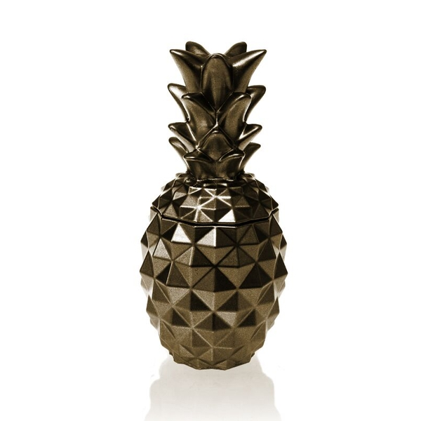 Brass Concrete Pineapple For Her Candle