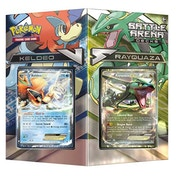 Pokemon TCG Battle Arena Decks Rayquaza vs Keldeo