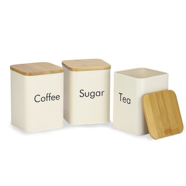 Kitchen Set: 3pc Canisters