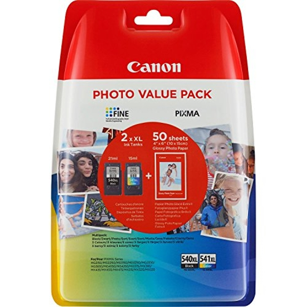 CANON PG-540XL/CL-541XL Photo Value Ink Cartridge