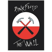 Pink Floyd Hammers Flat Magnet