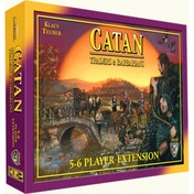 Catan Traders & Barbarians 5-6 Player Extension Board Game