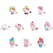 Hello Kitty and Friends Double Dippers Mini Figure (1 At Random) - Image 2