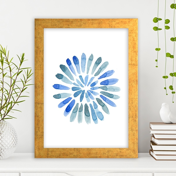 AC110854766917 Multicolor Decorative Framed MDF Painting