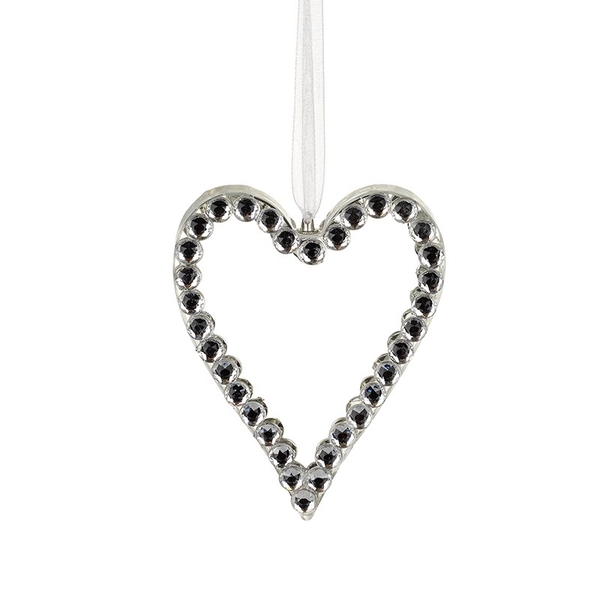 Glass Heart With Detail by Heaven Sends