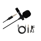 Maono Lavalier Tie-Clip On Lapel Microphone 6m Extension Cable 4 Pole 3.5mm Jack Adapter