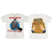 Iron Maiden Chicago Mutants Mens White T Shirt: Small
