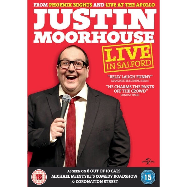 Justin Moorhouse - Live in Salford DVD