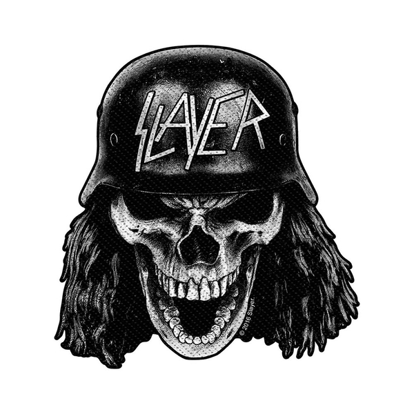 Slayer - Wehrmacht Skull Cut Out Standard Patch