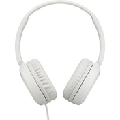 JVC HAS31MWE Foldable Headphones with Remote Mic - White