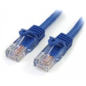 StarTech Cat5e Patch Cable with Snagless RJ45 Connectors 5 m Blue