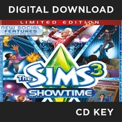 The Sims 3 ShowTime Limited Edition PC CD Key Download for Origin