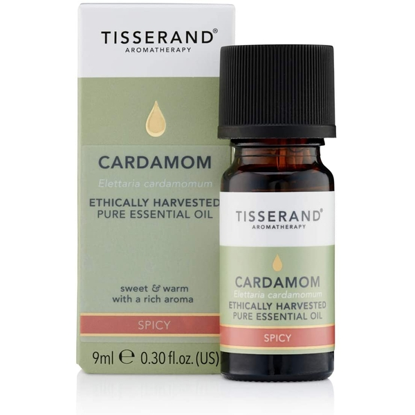 Tisserand Aromatherapy Ethically Harvested Cardamom Essential Oil 9ml