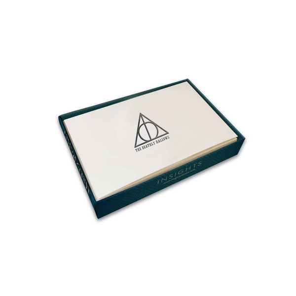 Deathly Hallows (Harry Potter) Foil Note Cards 10-Pack