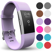 Yousave Fitbit Charge 2 Strap Single (Large) - Lilac