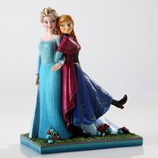 Disney Traditions Frozen Sisters Forever Figurine Anna and Elsa