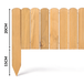 Wooden Spiked Lawn Edging | M&W 20cm - Image 4