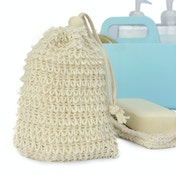 Natural Sisal Soap Bags - Set of 10 | M&W