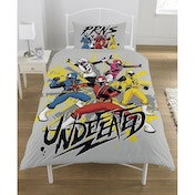Power Rangers Ninja Steel Single Panel Duvet