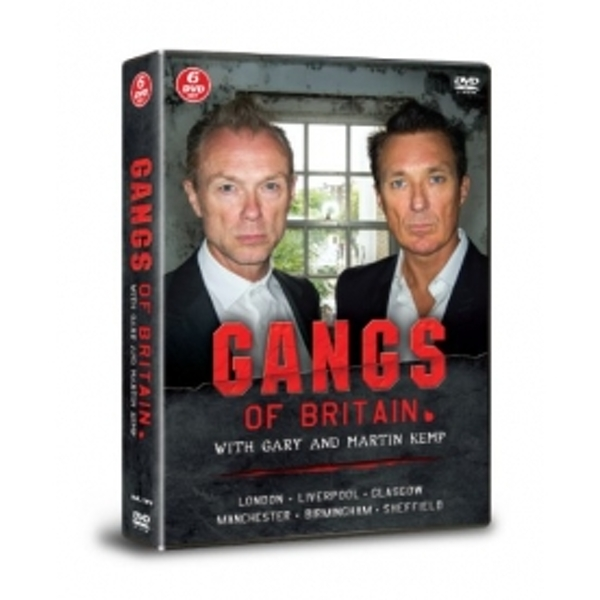Gangs Of Britain With Gary And Martin Kemp DVD
