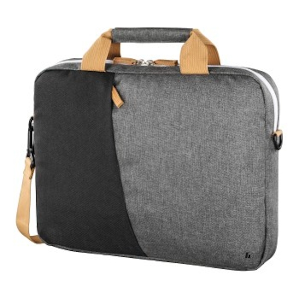 "Hama""Florenz"" Laptop Bag 44cm (17.3""), Black/Grey"