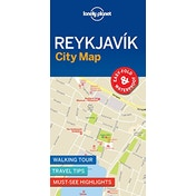 Lonely Planet Reykjavik City Map by Lonely Planet (2018)
