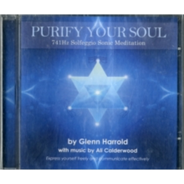 741Hz Solfeggio Sonic Meditation: Express Yourself Freely and Communicate Effectively by Glenn Harrold, Ali Calderwood (CD-Audio, 2012)